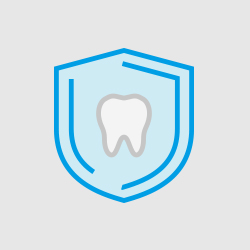 Animation of tooth on shield
