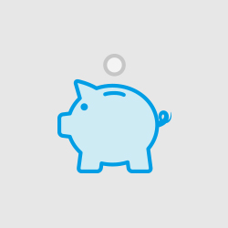 Animation of piggy bank